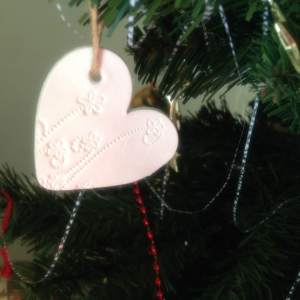 Beautiful ornaments created by Kirstie for all the families.